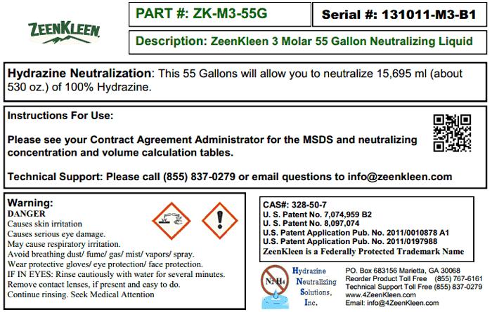 Product Label: ZK-3M-55G