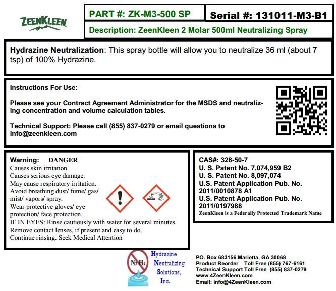 Product Label: ZK-3M-500 SP